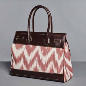 SAC CARMEN MEDIUM IKAT ROUGE DOS