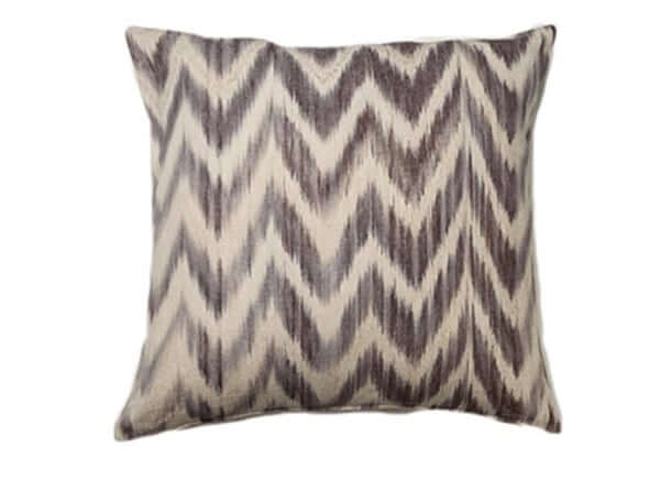 Housse Coussin IKAT TALAIA TAUPE
