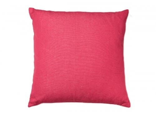 Housse Coussin IKAT MAGENTA