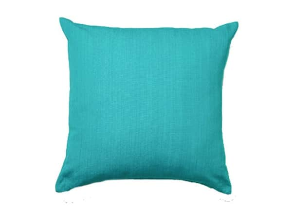 Housse Coussin IKAT TURQUOISE